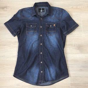 Denim Shirt Jeans by Buffalo size Small
